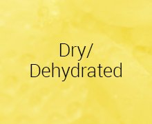 Dry/Dehydrated
